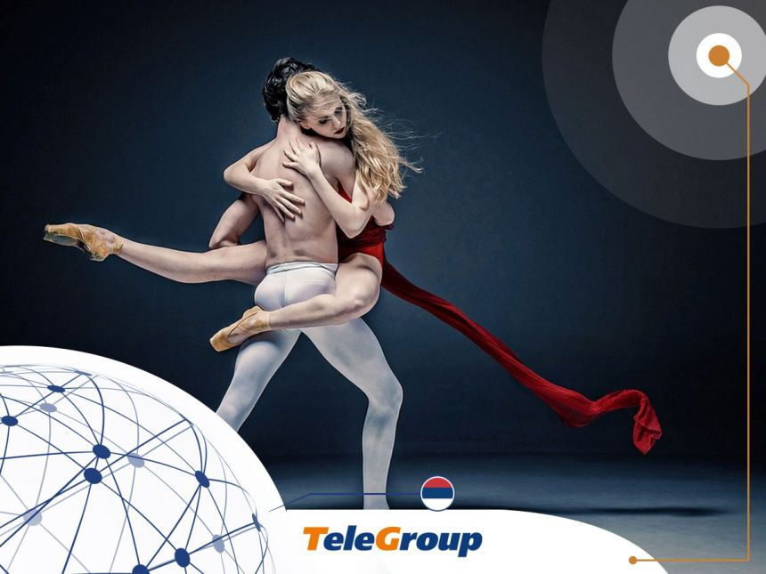 TeleGroup sponsor of the Belgrade Dance Festival 2017