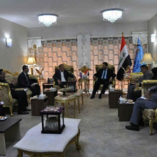 THE COMPANY TELEGROUP RETURNED VISIT TO THE MINISTRY OF COMMUNICATIONS OF IRAQ