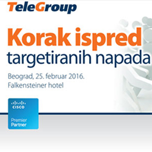 TeleGroup i Cisco organizuju IT Security radionicu