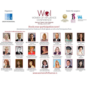 "TeleGroup na konferenciji ""Women of Influence"""